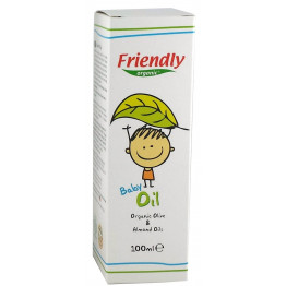 Friendly Organic Bebek Yağı 100ml