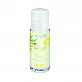 Logona Organik Energy Limon & Zencefil İçerikli Roll-on 50ml